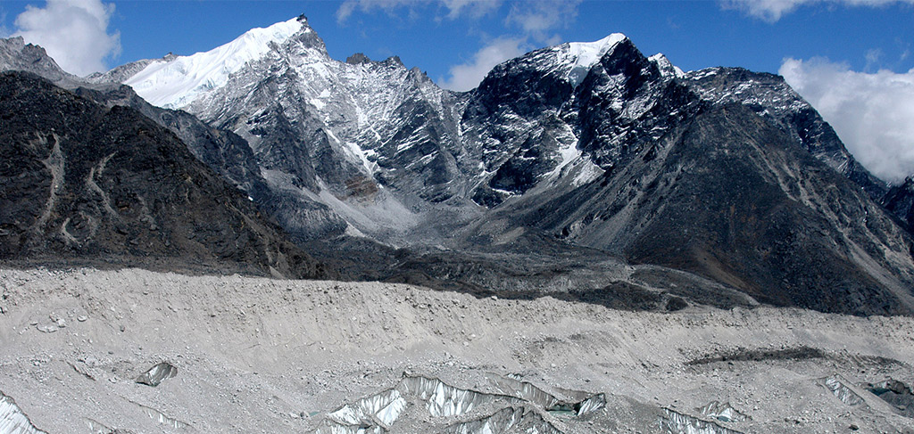 Glacier near Everest Base Camp